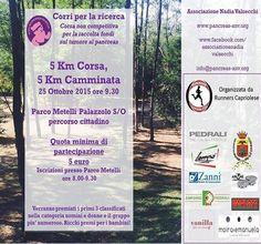 Corri per la Ricerca a Palazzolo SO http://www.panesalamina.com/2015/41692-corri-per-la-ricerca-a-palazzolo-sulloglio.html