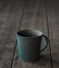 Cup with Handle Artist: Takeshi Omura  This is beautiful in its simplicity.