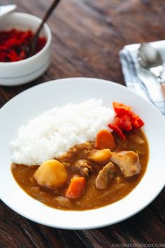 Instant Pot Japanese Curry - Make this delicious Pressure Cooker Japanese Curry Chicken in your Instant Pot! So easy and quick to make! #InstantPotCurry #instantpotjapanesecurry #JapaneseCurry #instantpotrecipes | Easy Japanese Recipes at JustOneCookbook.com Seitan, Tempeh, Japanese Chicken Curry, Japanese Curry, Japanese Food, Japanese Meals, Japanese Grocery, Korean Chicken, Japanese Dishes