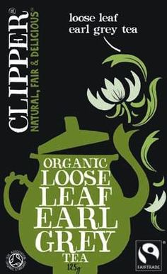 My tea of choice - must be Fairtrade as a rule for any tea I drink!