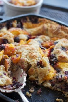 Post image for Fresh Peach Cobbler and How to Peel Peaches