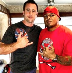Credit: mr.hawaiianhostage.pink on IG (07/20/15) Hawaii 50-Season 6  Here goes..glad to have the acts rock the gear! Hawaiianhostage.com ‪#‎BLESSED‬