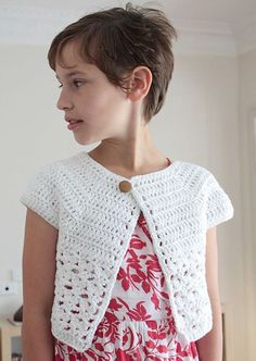 Bebop CardiThis crochet pattern / tutorial is available for free...  Full Post: Bebop Cardi Pattern