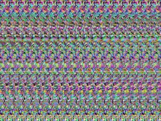 magic eye picture - who else can read it?!
