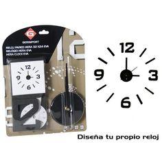 #reloj de corcho para pared que se puede ajustar el tamano dependiendo el lugar donde quieres colocar,para mas informacion en www.catayhome.es