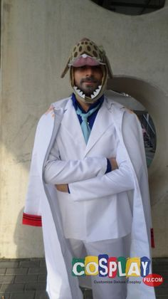 Monkey D Garp Cosplay from One Piece in Romics Autumn 2014 IT