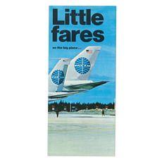Little fares leaflet | Alan Fletcher