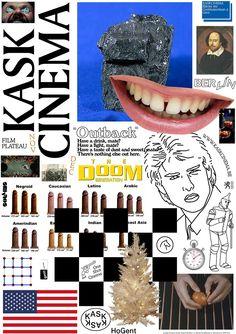 Kask Cinema poster Jurgen Maelfeyt