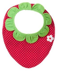 Strawberry Dot #Bibs