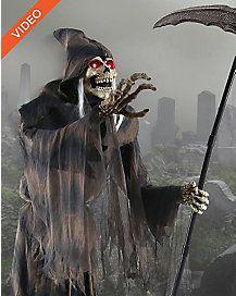 6 Ft Lunging Reaper Animatronics - Decorations