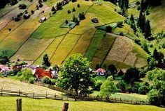 Brasov, Romania shire by auckka, via Flickr