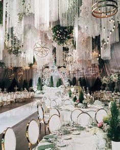 "103 Likes, 4 Comments - Nigerian Wedding Decor (@nigerianweddingdecor) on Instagram: ""AMBIENCE ⚪ Photo via @ksemenikhin decor by @lidseventhouse wedding planner @jr_wedding…"" Large Chandeliers, Modern Chandelier, Tent Lighting, Centerpiece, Plastic Chandelier, Romance, Diys, Two Year Olds, Home Decor"