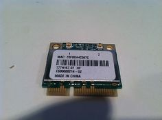 Acer Aspire 5830T Wireless WiFi Card T77H167.07 Tested