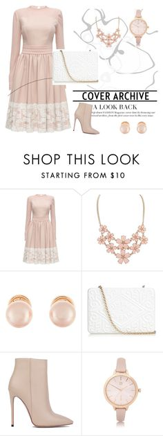 """♥"" by abecic ❤ liked on Polyvore featuring Lattori, Kenneth Jay Lane, Anya Hindmarch, Akira Black Label and River Island"