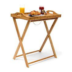 Relaxdays-Tabletttisch-Bambus-HxBxT-ca-635-x-55-x-35-cm-Beistelltisch-mit-Tablett-fr-Frhstck-und-mehr-Klapptisch-plus-Kchentablett-als-Serviertisch-Serviertablett-Butler-Tisch-aus-Holz-natur