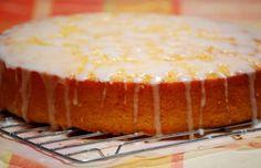 Orange polenta carrot cake.