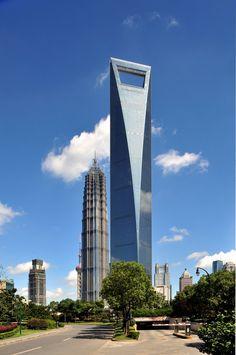 Pictures - Shanghai World Financial Center - Architizer