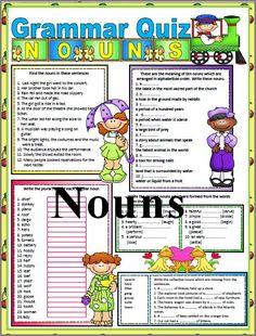 CHSH - Grammar Resources and Downloads 1st 3rd Grades