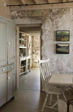 irish cottage interiors | dressers in old irish cottages - free