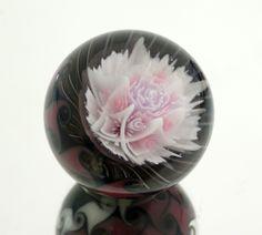 akihiro okama lampwork gallery -glass marble