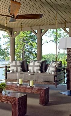 Awesome porch swing