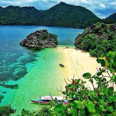 Matukad Island in Caramoan, Camarines Sur - Philippines