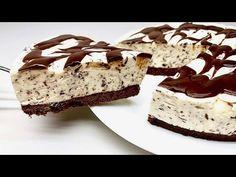 Schokoladendessert IN 5 MINUTEN! Kein Backofen! Keine Gelatine! - YouTube Chocolate Desserts, Cheesecakes, Tiramisu, Mousse, Cake Recipes, Oven, Food And Drink, Cooking Recipes, Sweets
