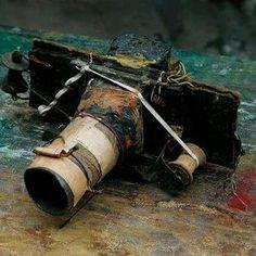 Miroslav Tichy's handmade camera  <