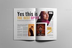 Buy Lifestyle Magazine by on GraphicRiver. Magazine layout design The magazine layout design is super easy to customize. This magazine layout template contains. Image Input, Magazine Layout Design, Types Of Printing, Print Magazine, Magazine Template, Layout Template, Business Flyer, Editorial Design, Creative Business