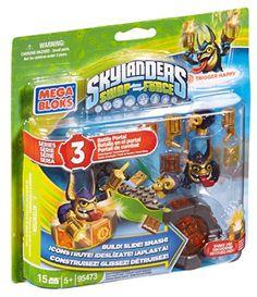 Mega Bloks Skylanders Legendary Trigger Happy Battle Portal Mega Bloks http://www.amazon.com/dp/B00FB5WII6/ref=cm_sw_r_pi_dp_idU.vb1KPPHC4