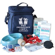 #SOSProducts Pet Emergency Kit. Your pets needs to be prepared too!