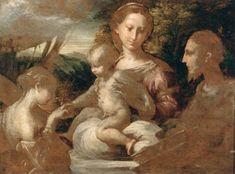 Mystic Marriage of St Catherine - Parmigianino
