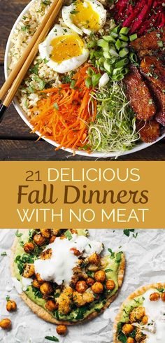 21 Meatless Dinners That Are Perfect For Fall
