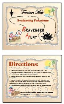 Scavenger Hunt - Evaluating Functions