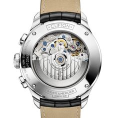 At the SIHH 2016 Baume & Mercier will present the latest addition to the Clifton collection, a new small complication timepiece, the combination of a chronograph function with. Cool Watches, Watches For Men, Gents Wear, Watch Case, High Jewelry, Casio Watch, Luxury Watches, Jewels, Passion