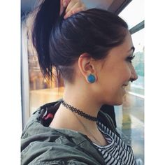 Nape undercut - I used to have this, though higher cut. I'd love to do it again, but hair takes an annoyingly long time to grow after that. Shaved Undercut, Undercut Long Hair, Shaved Nape, Undercut Hairstyles, Cool Hairstyles, Medium Thin Hair, Hair Tattoos, My Hairstyle, Dream Hair