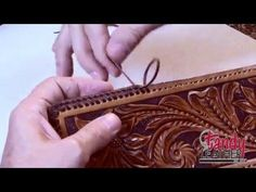 Learning Leathercraft with Jim Linnell – Lesson 13: Double Loop Lacing » Leathercraft Library