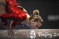 Alicia Sacramone - She must really love the balance beam by ~jessi_michele~, via Flickr