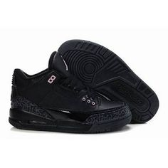 Air Jordan shoes are for sale now! We provide a lot of cheap air jordans at low price, including Air Jordan 3 All Black, it is only $53.68.
