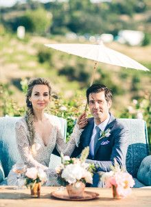 How to Keep Guests Cool at a Summer Wedding - Inspired by This