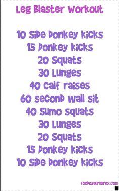 Leg workout! fitness