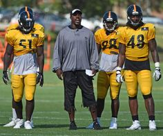 Steelers OLB coach Porter teaches as passionately as he played | TribLIVE