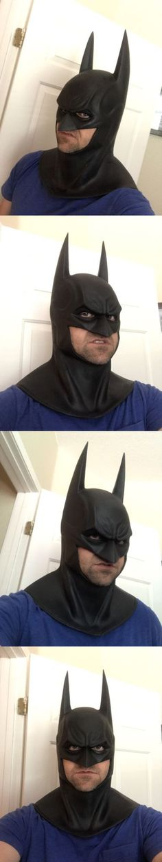 Men Costumes: Arkham Asylum Style Cowl To Go With Your Batman Costume Or Cape -> BUY IT NOW ONLY: $199.99 on eBay!