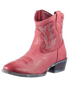 Women's Billie Boot - Red Brunido