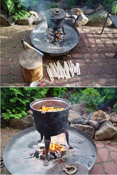 Kociołek żeliwny. Potrawy, przepisy. porady, informacje... Cauldron, hotpot, kettle, iron kettle