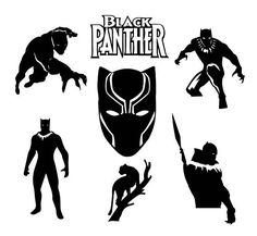 Marvel Black Panther Tribal svg | All Things Black Panther ...