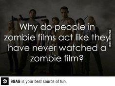 Stupid zombie apocalypse survivors