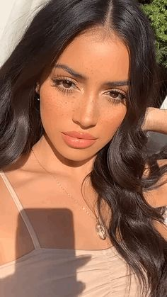 Home page - Beauty Proo Girl Inspiration, Makeup Inspiration, Pretty Makeup, Makeup Looks, Ponytail Hairstyles, Cool Hairstyles, Cindy Kimberly, Flawless Face, Cute Beauty