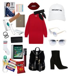 """Let's fly ✈️"" by kadeer-alm on Polyvore featuring MM6 Maison Margiela, Gianvito Rossi, Yves Saint Laurent, Nasaseasons, Chloé, Jimmy Choo, Kerr®, Undercover, MAC Cosmetics and Givenchy"
