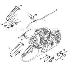 Stihl MS 271 Chainsaw (MS271) Parts Diagram, Oil Pump
